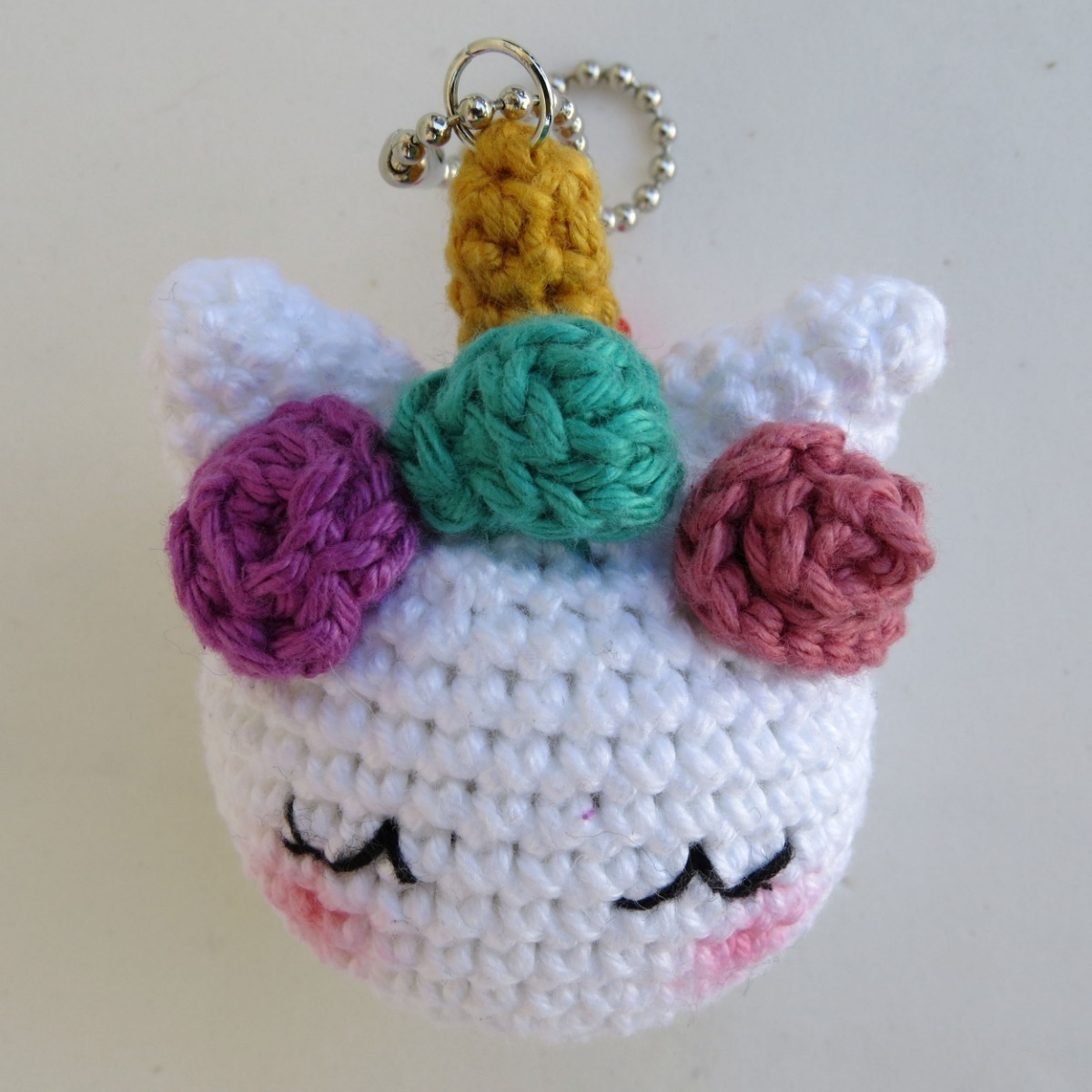 Bonequinho Amigurumi Unicórnio em Crochê | 1200x1200