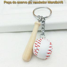413770f3a Chaveiro Bola Baseball no Mercado Livre Brasil