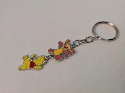 chaveiros divertidos desenhos animados chaves celular pooh