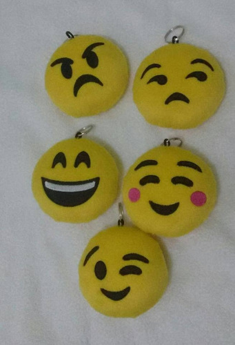chaveiros emojis