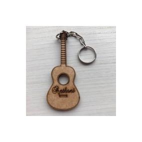 7686c7145a8e1 Kit 60 Chaveiros Personalizado Violão Lembrancinha Festa