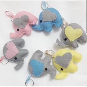 8c7b96872992d Chaveiro De Elefante Feltro no Mercado Livre Brasil