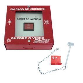 55b8870570ed6 Botoeira Chave Liga Desliga P  Bomba De Alarme De Incêndio