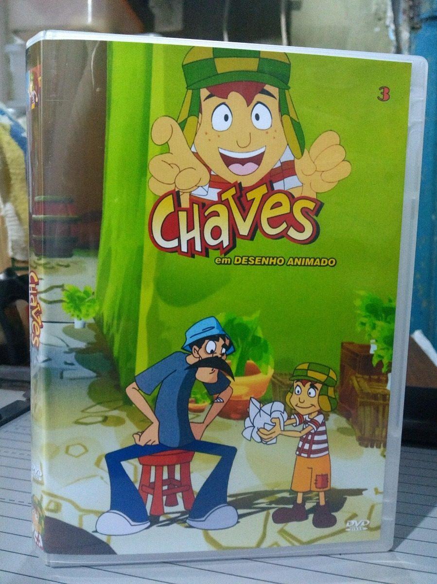 Chaves Desenho Animado Dublado E Com Encarte 99 Episodios R