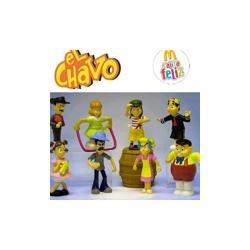 chavo con barril mc donalds cajita feliz 2010