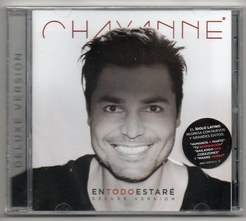 chayanne  en todo estaré  deluxe version cd nuevo sellado