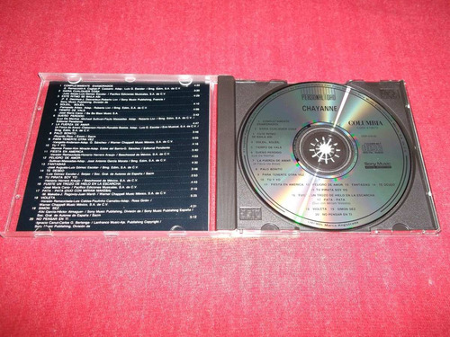 chayanne - personalidad cd nacional edicion 1992 mdisk