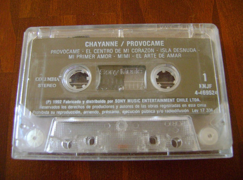 chayanne / provócame