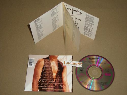 chayanne tiempo de vals 1990 cbs cd usa