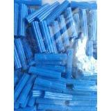 chazo o ramplug plastico azul 1,1/2  bolsa de 100 unidades