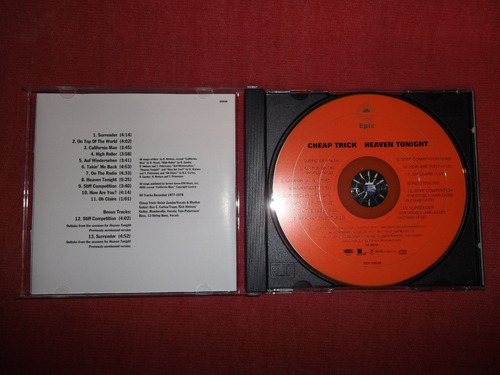 cheap trick heaven tonight bonus tracks cd usa ed 2008 mdisk