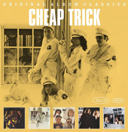 cheap trick - original album classics [cofre, 5cds]