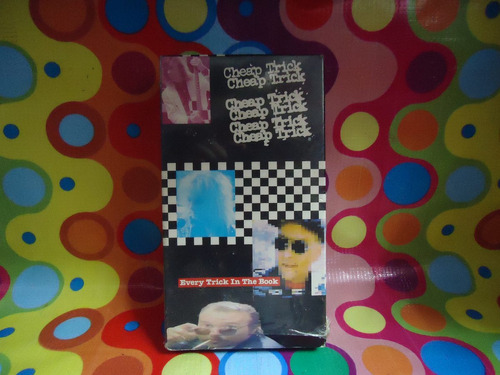 cheap trick vhs video every trick in the book,1990, usa.