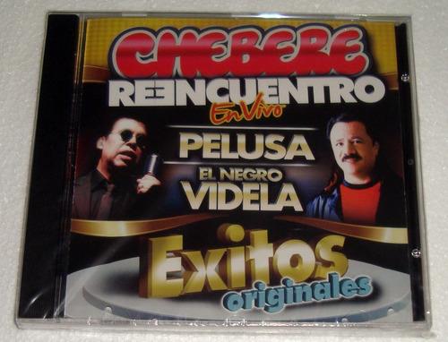 chebere reencuentro exitos originales cd sellado