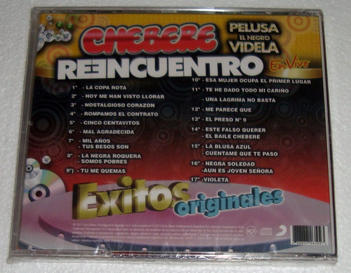 chebere reencuentro exitos originales cd sellado / kktus