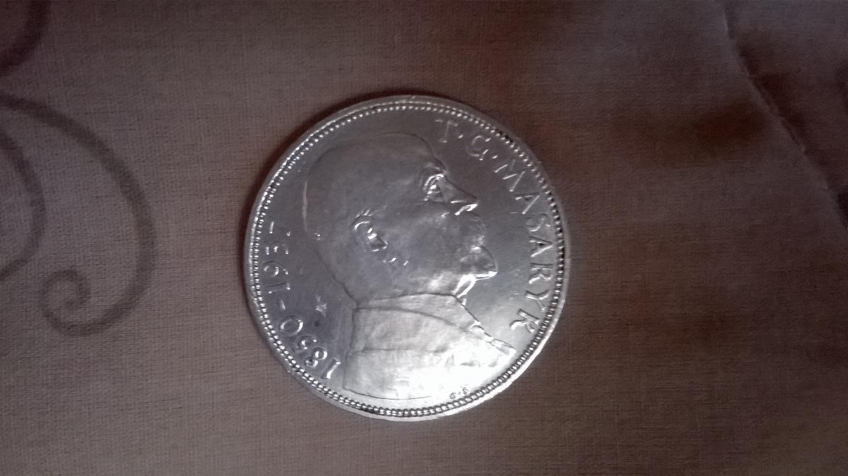 Checoslovaquia (1937) Presidente Masaryk 20 Korun