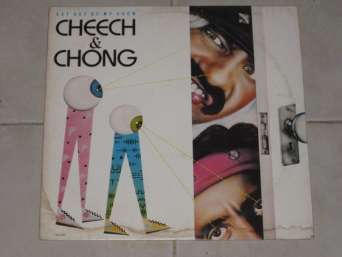 cheech & chong -get out of my room disco lp acetato vinil
