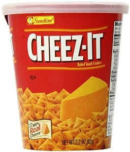 cheez-it cracker copa original 2.2 onzas (paquete de 10)