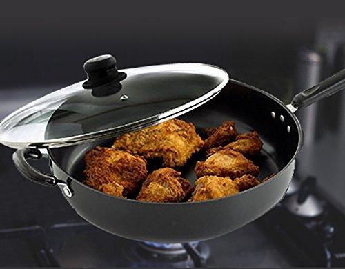 chef gourmet chef 12 pulgadas de freidora de pollo