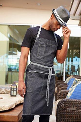 chef works bronx babero delantal (ab041)