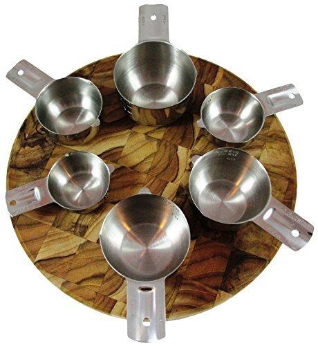 chefsgrade acero inoxidable tazas de medición - muy pulido