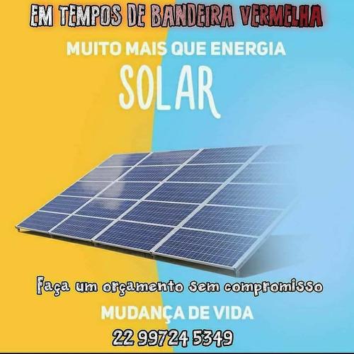 chega de pagar caro na conta de luz energia solar é a opção