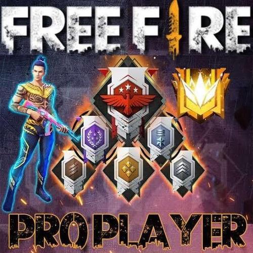 chegue a nível pró player no free fire