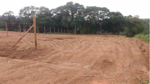 chegue e construa sua chacara terrenos planos com demarcação