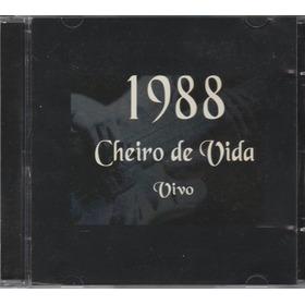 Cheiro De Vida - Cd 1988 - Vivo