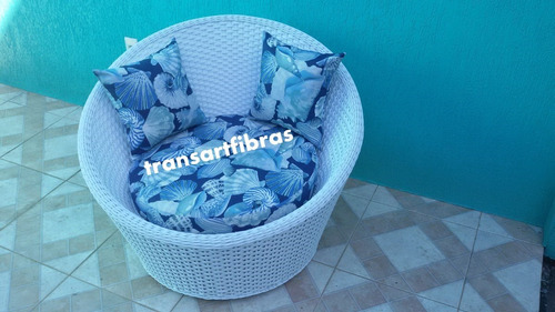 cheise concha d fibra sintetica  mt 100+100 p varanda