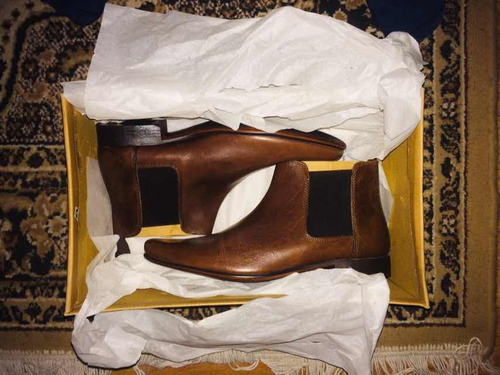 chelsea boots botas hombre asos hm zara cuero talla 42