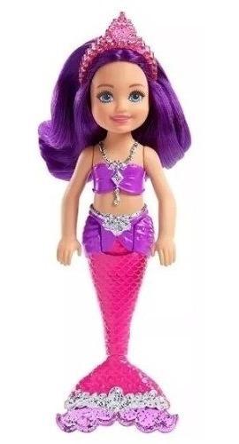 chelsea dreamtopia barbie  pequeña sirena juguete ref fkn03