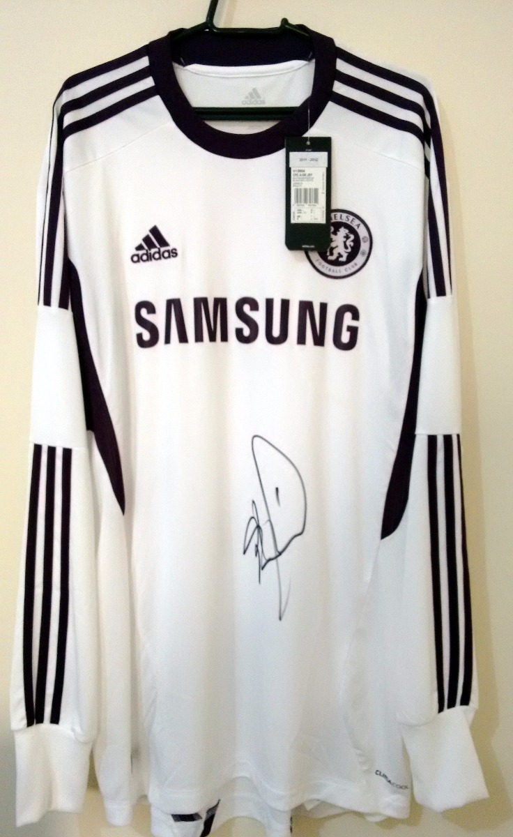 953a332197 Chelsea Final Munich 2012 Cech X Bayern Munich Autografada - R  260 ...