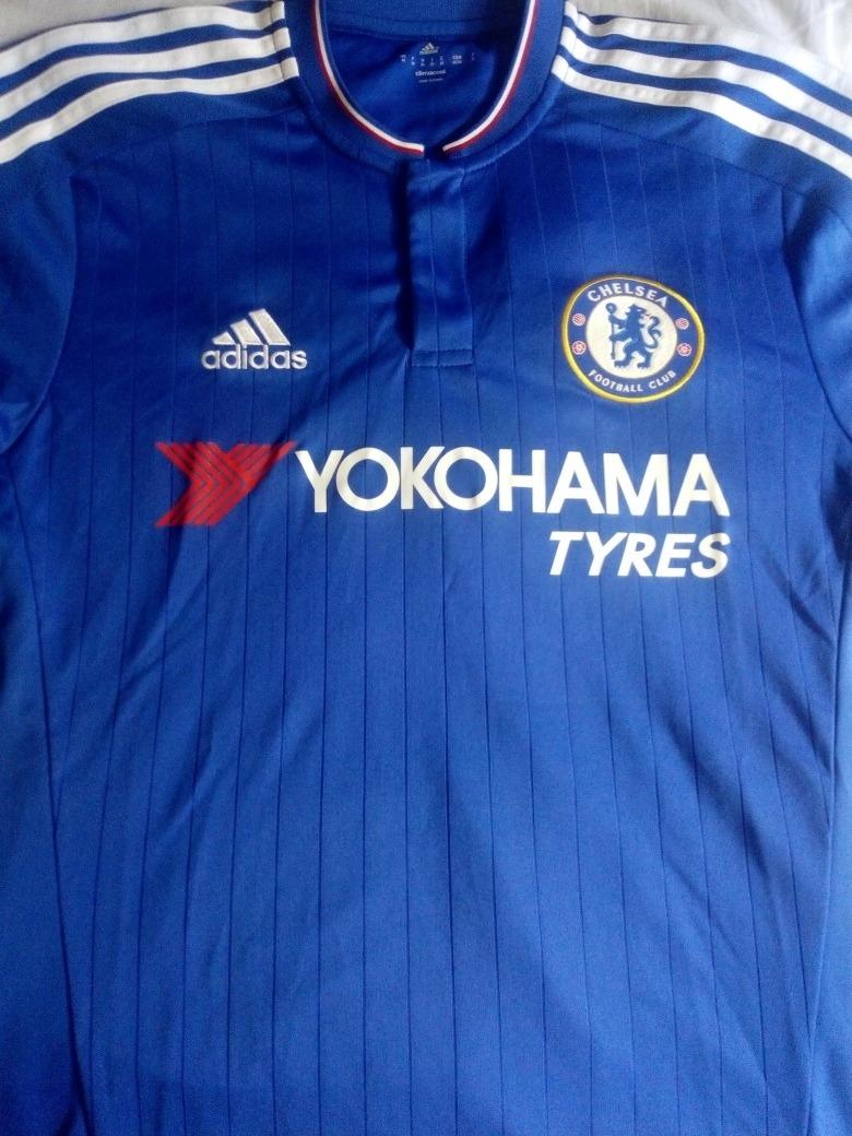 online store a9ebd eef33 Chelsea Jersey Color Azul Original