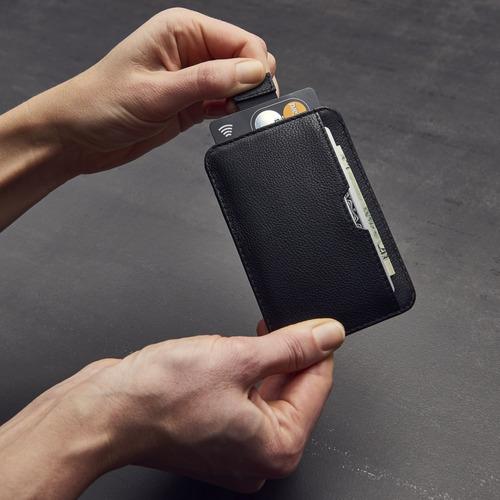 chelsea slim card sleeve cartera de los hombres con la prote