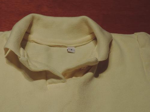 chemise amarilla para preescolar