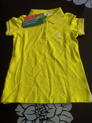 chemise benetton para niñ@