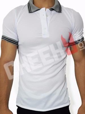 chemise casual masculina a la moda con bordes y cuellos
