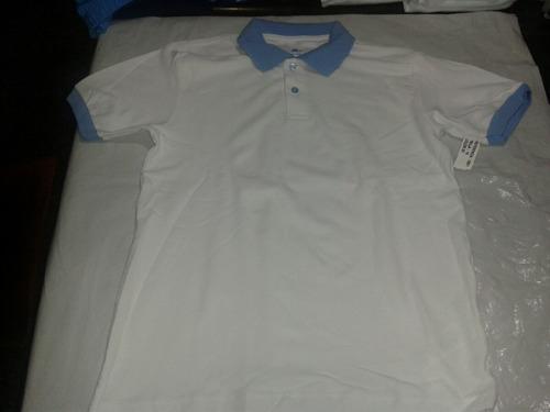 chemise con cuello de color ovejita 100% algodon