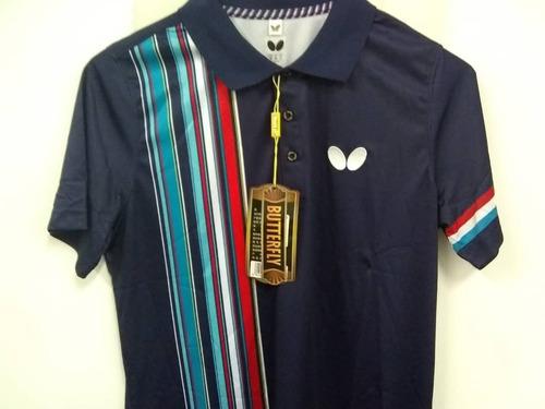 chemise polo butterfly tenis de mesa. valor: (38vrds)