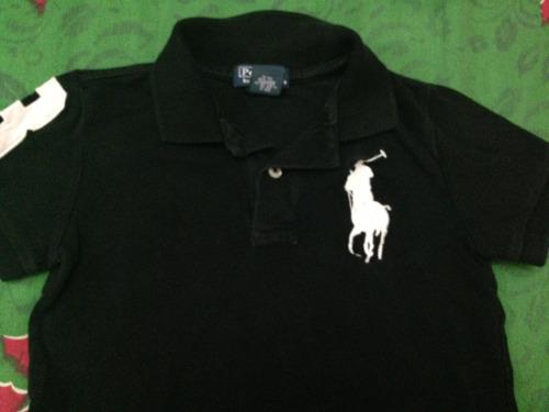 chemise ralph lauren de niño, talla 4. usada!!!