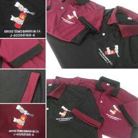chemises corporativas en tela atlética  uniformes