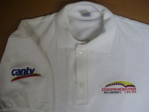 chemises en tela piquet hilo n° 20, 100% algodón