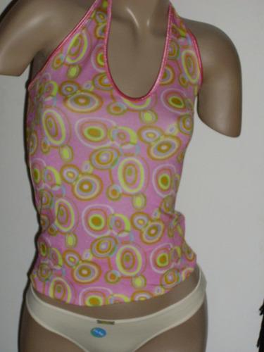 chemisette/camiseta con bretel de razo