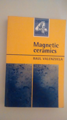 chemistry of solid state materials - magnetic ceramics