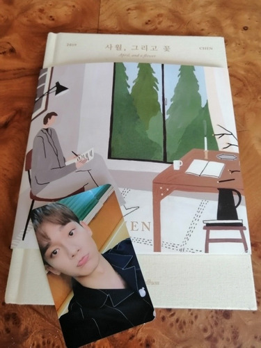 chen  exo 1st mini album april and a flowers