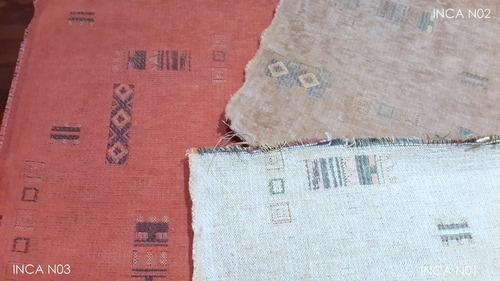 chenille  para sofas ancho/140 cms 3 colores inca