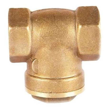 cheque cortina en bronce de 1` sello metalico helbert hicc02