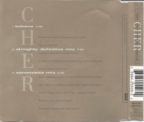 cher - belive - cd single