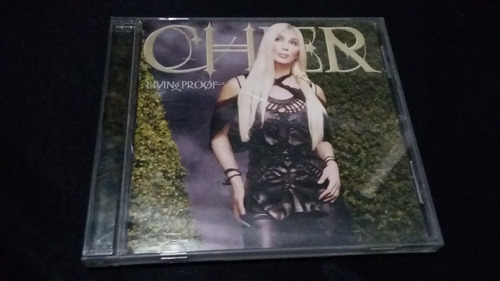 cher living proof cd euro dance electronica